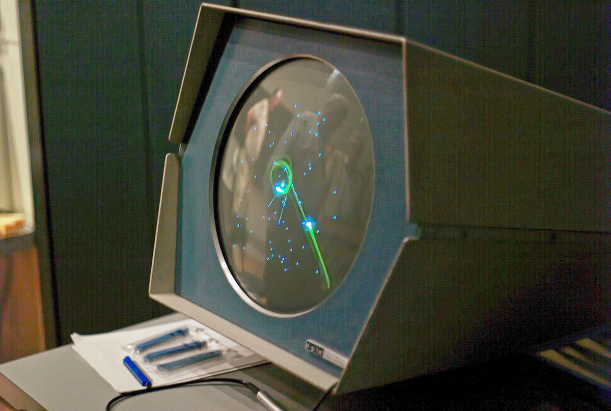 Spacewar has a solid place in the History of online games ... photo by CC user Joi Ito on Flickr