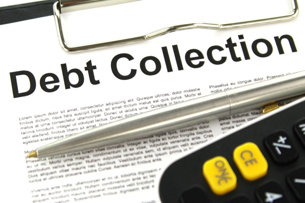 Debt Collection is no laughing matter